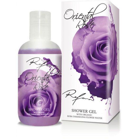 Refan Keleti Rózsa tusfürdő természetes rózsavízzel