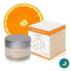 Refan C-vitamin bőrfeszesítő éjszakai arckrém