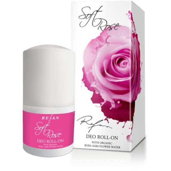 Refan Lágy Rózsa izzadásgátló dezodor - ALUMINIUM MENTES