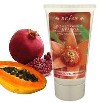 Természetes Gránátalma & Papaja bőrfeszesítő kézkrém