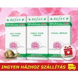 Refan SNAIL ROSE bőrfiatalító luxus csomag / 40+ / + AJÁNDÉK