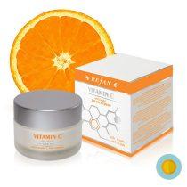 Természetes C-vitamin bőrfeszesítő nappali arckrém - natúrkozmetikum