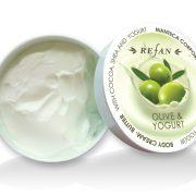 Refan Olíva & Joghurt testvaj kakaóvajjal - száraz bőrre