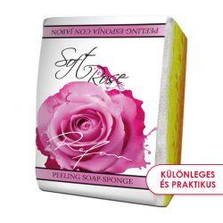 Refan Lágy Rózsa bőrfeszesítő szivacsos szappan