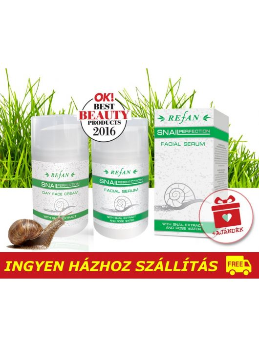 Refan Csigagél bőrfiatalító csomag - / 40+ / + AJÁNDÉK