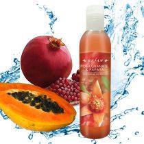 Hidratáló Gránátalma & Papaja tusfürdő - természetes bőrfeszesítő