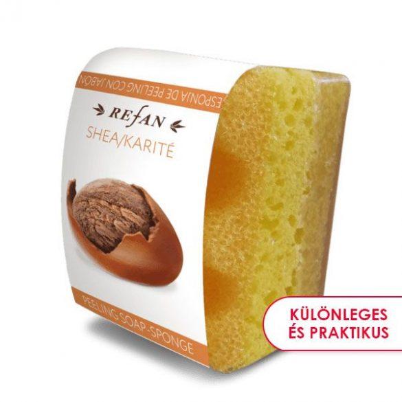 Refan Shea & Kakaó szivacsos szappan természetes shea vajjal