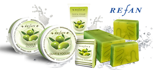 Refan olíva-joghurt termékcsalád