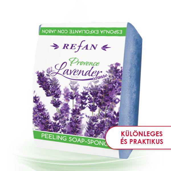 Provanszi levendula bőrfeszesítő szivacsos szappan