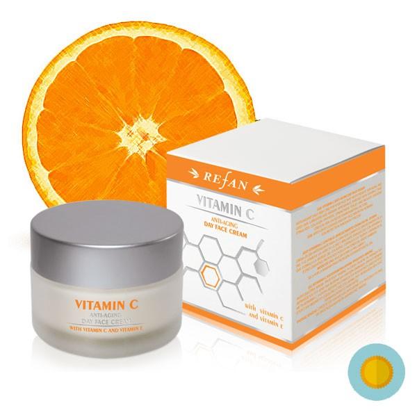 C-vitamin ránctalanító nappali arckrém / 30+ /
