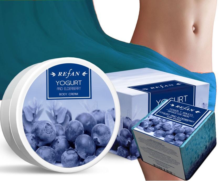 Áfonya & Joghurt bőrfeszesítő csomag