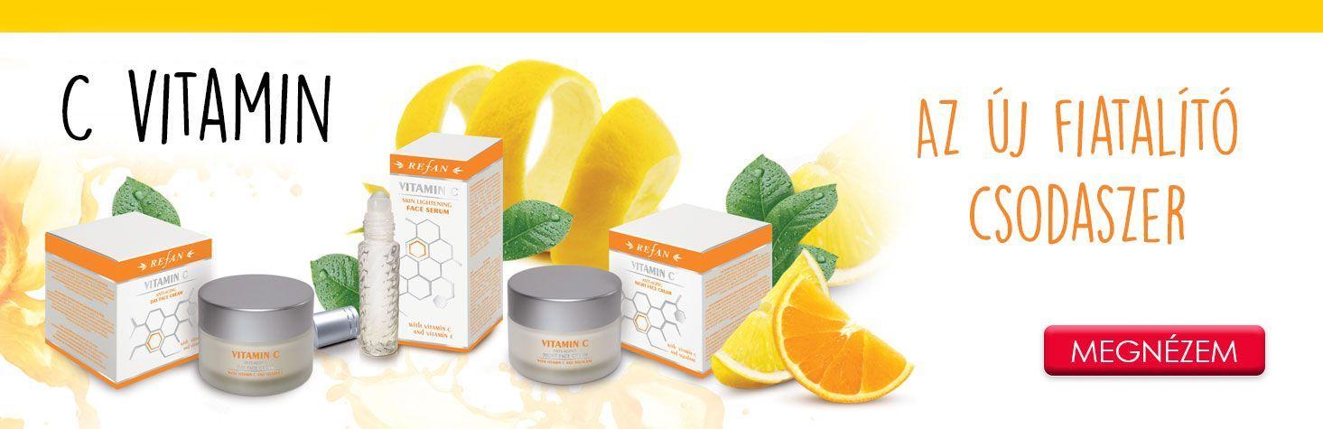 Bőrfeszesítő natúrkozmetikumok - C-vitamin az új fiatalító csodaszer