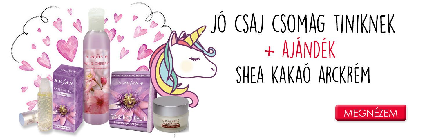 Bőrfeszesítő natúrkozmetikumok - Jó csaj csomag tiniknek a természetes maracuja illatával + Ajándék arckrém